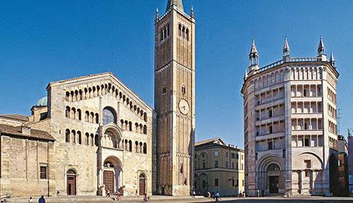 Italie Parme et Therme