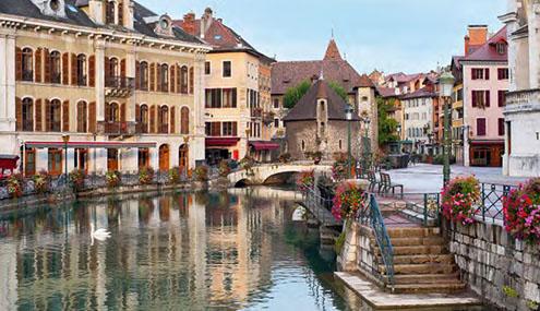 La Venise des Alpes  Annecy - Poisy
